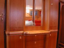Nordia 65 - Dressing table in the aft owner's cabin