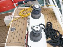 ELLYA 43 - Port side Harken winches