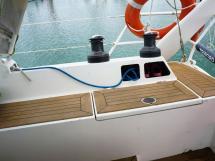 ELLYA 43 - Starboard Harken winches