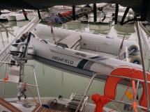 OVNI 47 - Tender under the davits