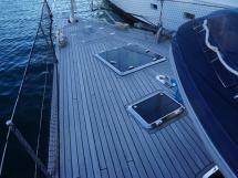 SLOOP VATON 78' - Front teak deck