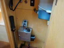 Feeling 44 Di - Centerboard hydraulic system