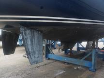 Vaton 54 - Rudders, saildrive and centerboard