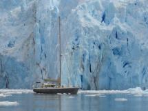 ALUMINIUM CUTTER 53' - Sailing the ice