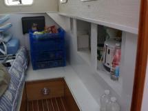 AYC - Randonneur 1200 - Starboard aft cabin