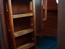 Dalu 47 - Escape hatch in the aft cabin