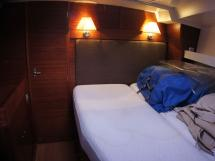 Alliage 45 - Forward cabin - port side double bed