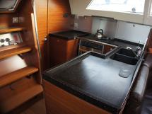 Alliage 45 - U-shaped galley