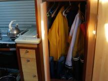 Patago 40 - Foul weather gear closet