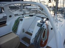 Alliage 45 - Roof arch and companionway door