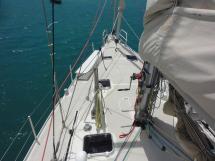 ALUMINIUM CUTTER 53' - Forward deck