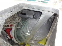ALUMINIUM CUTTER 53' - Crashbox / Forward sails locker