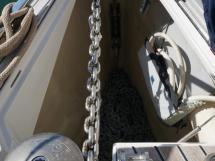 Dufour 485 Grand Large Custom - Anchor locker