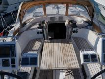 Dufour 485 Grand Large Custom - Cockpit from the aft