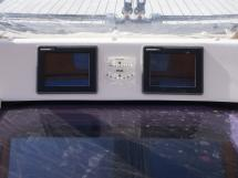 """Dufour 485 Grand Large Custom - 6,5"""" displays at the companionway"""