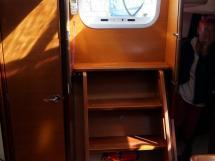 Dufour 485 Grand Large Custom - Companionway steps