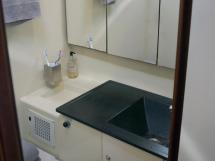 Dufour 485 Grand Large Custom - Forward cabin's bathroom