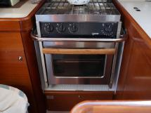 Dufour 485 Grand Large Custom - Force 10 kitchen stove