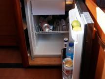 Dufour 485 Grand Large Custom - Additional fridge