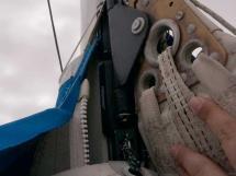 Catana 42S - Fredericksen mastr track and carts