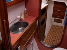 Catana 42S - Forward starboard bathroom