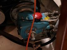 Catana 42S - Watermaker pressure pump