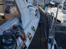 Garcia Salt 57 - Starboard catwalk