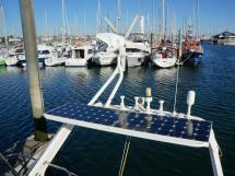 Garcia Salt 57 - Solar panels, wind generator and antennas