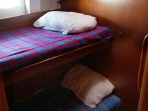 Garcia Salt 57 - Starboard cabin with bunk beds