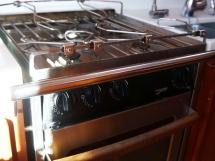 Garcia Salt 57 - Force 10 galley cooker