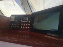 Nordia 65 - Electronics at the companionway