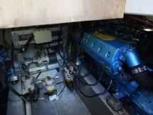 AYC Yachtbrokers - Trawler Meta King Atlantique - Starboard engine
