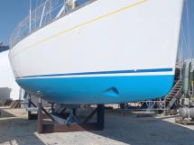 Alliage 48 CC - Hull and bow-propeller