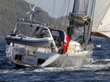 Alliage 45 - Under sails