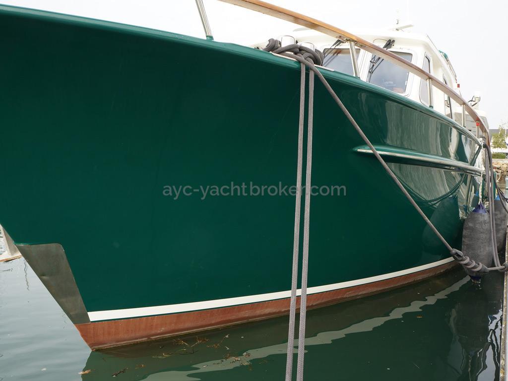 Searocco 1500 Trawler - Port freeboard