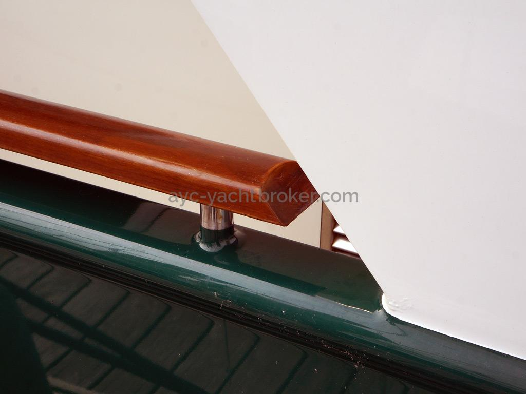 Searocco 1500 Trawler - Finition detail