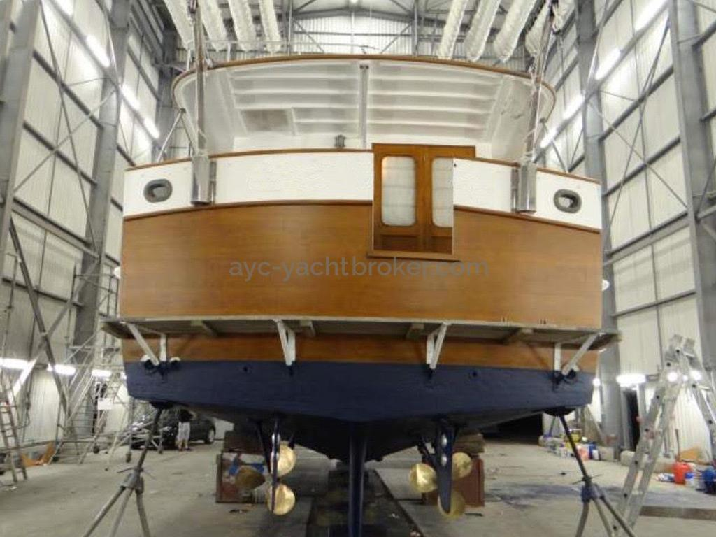 Grand Banks 46 Alaskan - Transom