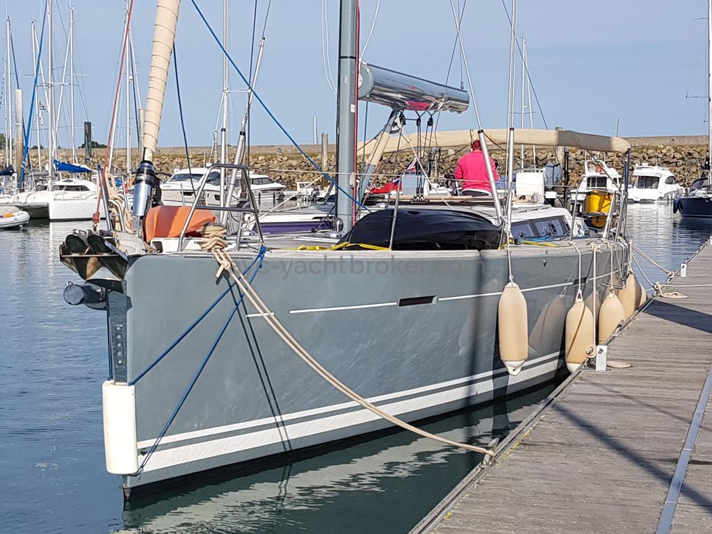 Dufour 485 Grand Large Custom - Docked