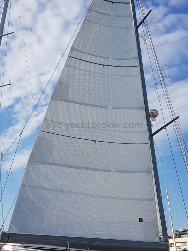 Dufour 485 Grand Large Custom - Quantum mainsail