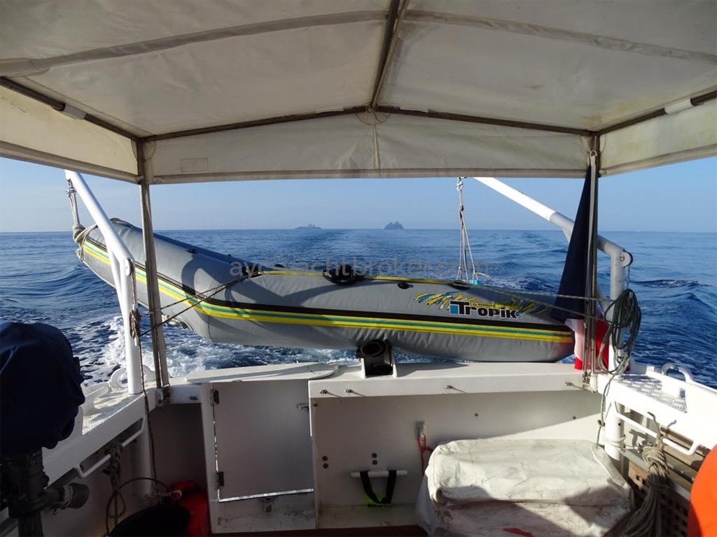AYC Yachtbrokers - Trawler Meta King Atlantique - Cockpit
