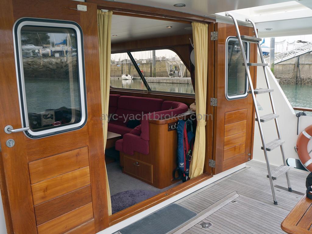 Searocco 1500 Trawler - Double aft door