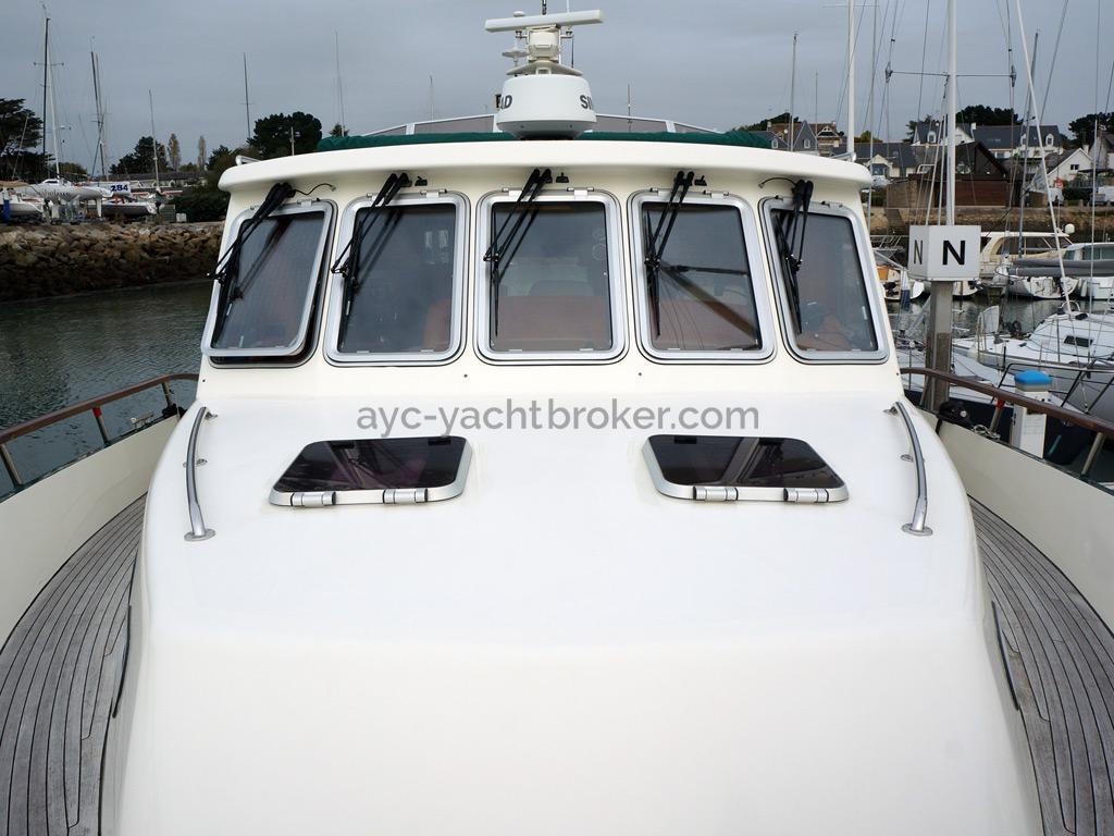 Searocco 1500 Trawler - From bow