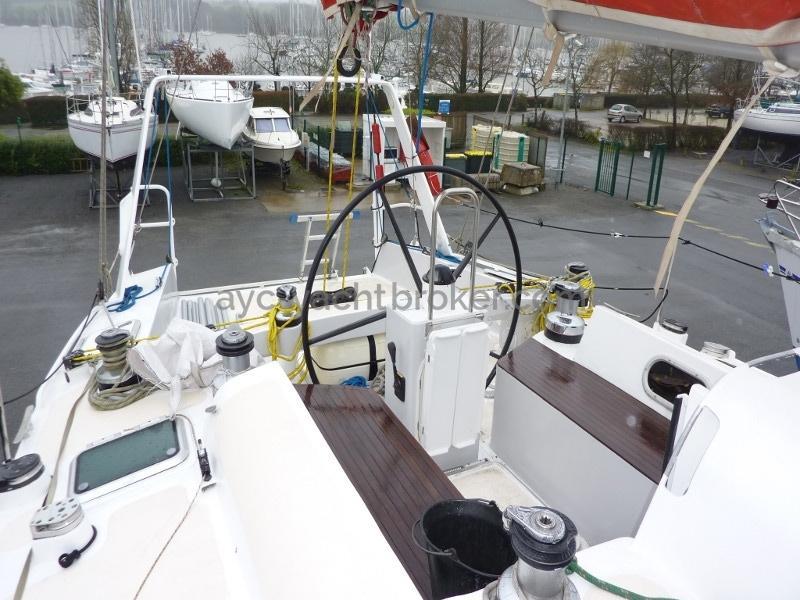 AYC Yachtbroker - Nemophys 50 - Cockpit