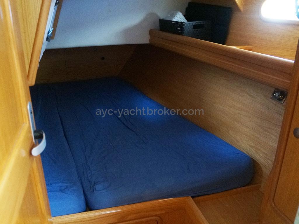 OVNI 395 - Aft cabin
