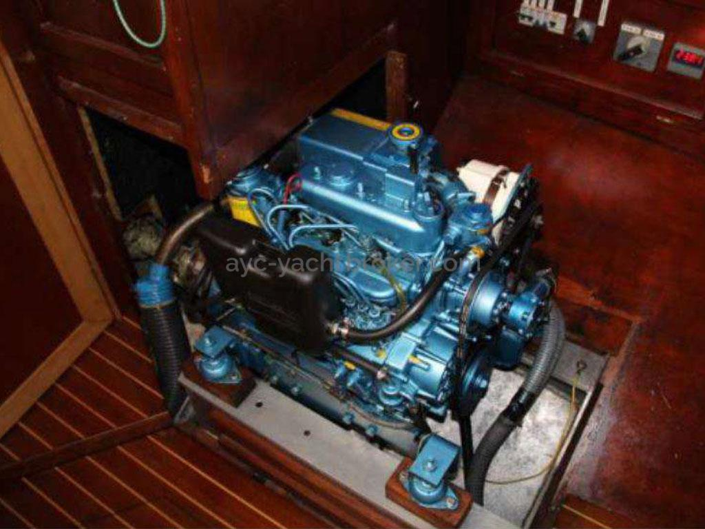 Meta JPB 47 - Port side engine