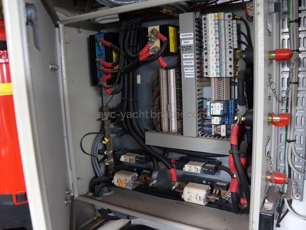 Searocco 1500 Trawler - Electrical panel