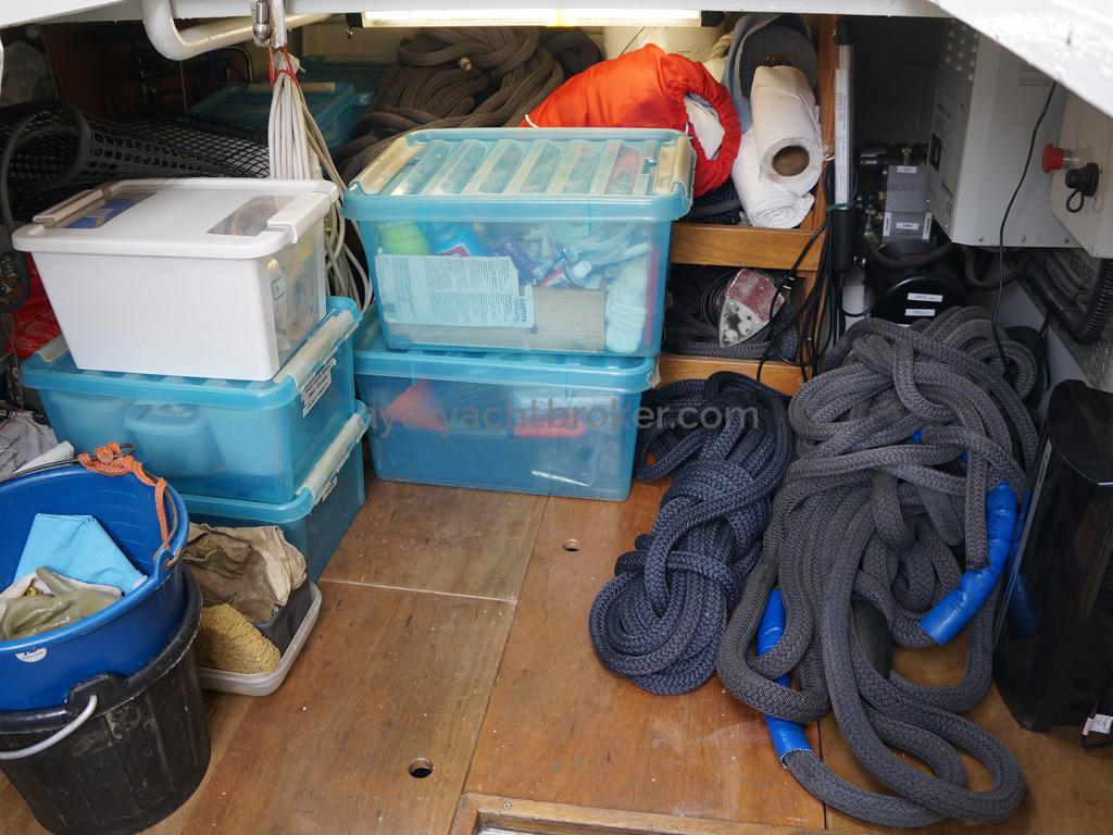Searocco 1500 Trawler - Technical bilge