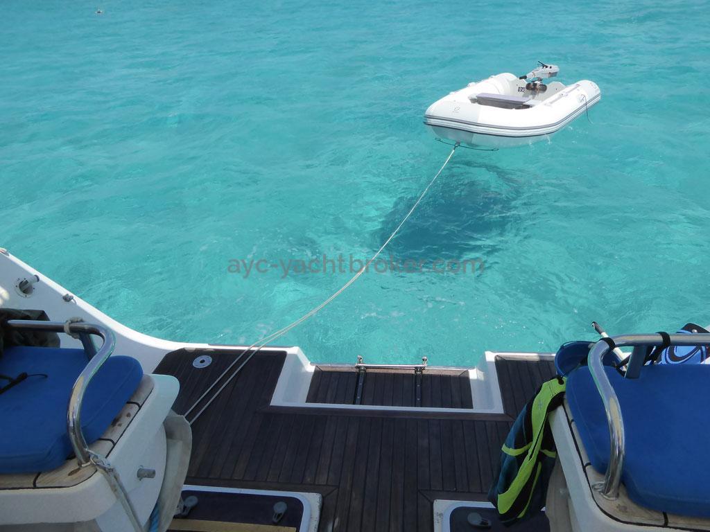 AYC - Azzuro 53 / Transom bathing platform & tender