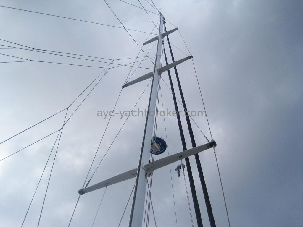 AYC - Levrier des mers 16m / Mast