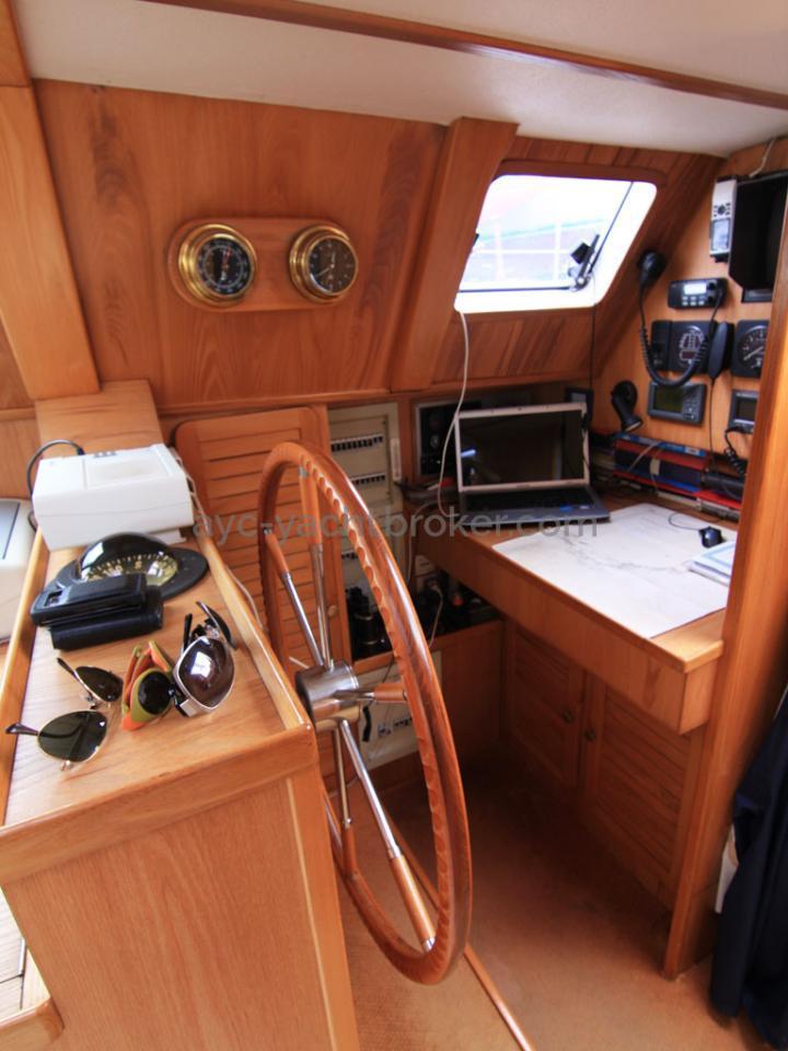 AYC - Jeroboam / Chart table & steering wheel